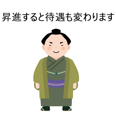 正装のお相撲さん